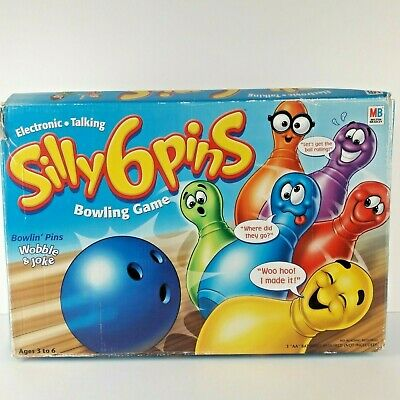 $44.99 • Buy Silly Six 6 Pins Electronic Talking Bowling Game Funny Preschool Toy Complete