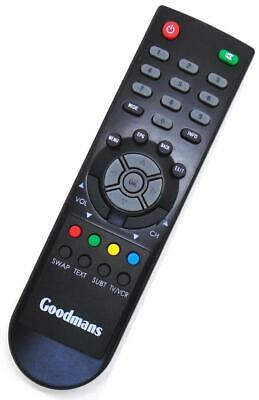 Genuine Goodmans Low Energy Freeview TV Receiver Remote For GDB12XI2 • 7.50£