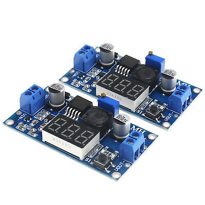 AU20.04 • Buy DC Buck Step Down Converter LM2596 Module Regulation With LED Voltmeter Display