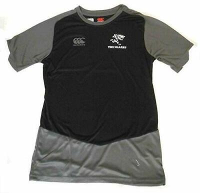 £15.99 • Buy Canterbury Natal Sharks Rugby Men's SS Poly Training Shirt Jersey - New