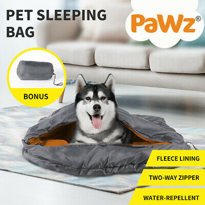 AU29.90 • Buy PaWz Pet Bed Dog Beds Sleeping Soft Calming Pillow Mat Small Puppy Bedding Red