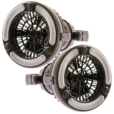 AU39.90 • Buy 2x Adventure Kings 2in1 LED Light & Fan For Camping Offroad Tent Outdoor 4WD 4X4