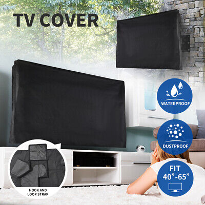 AU23.99 • Buy TV Cover 40 -65  Inch Outdoor Patio Flat Television Protector Screen Waterproof