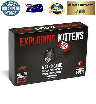 AU48.22 • Buy Exploding Kittens NSFW Edition Card Board Game