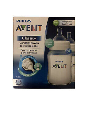 AU22 • Buy Avent Pp Bpa Free Feeding Bottle 260Ml 2Pk Clinically Proven Reduce Colic
