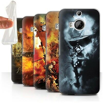 AU11.90 • Buy STUFF4 Gel/TPU Case/Cover For HTC One M9+/Plus/War Battle Gaming Art