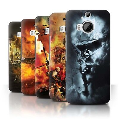 AU13.90 • Buy STUFF4 Back Case/Cover/Skin For HTC One M9+/Plus/War Battle Gaming Art