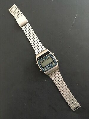 $ CDN125 • Buy Vintage NCL Melody Alarm Digital Watch Stainless Steel Bracelet Strap *PARTS*