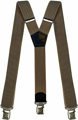 $17.90 • Buy Mens Suspenders Wide Adjustable And Elastic Braces Y Shape With Very Strong...