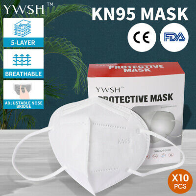 AU18.99 • Buy N95 KN95 Face Mask Reusable Mouth Masks Anti Dust 5 Layer Respirator Protective