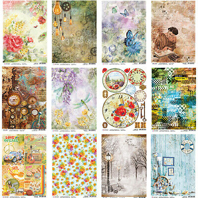 £2.99 • Buy Ciao Bella Collection B - Decoupage Rice Paper A4 Sheet - VARIOUS DESIGNS