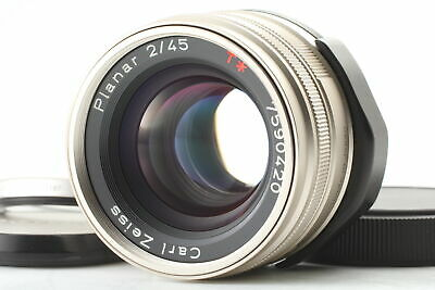 $362.99 • Buy 【Near MINT】 Contax Carl Zeiss Planar T* 45mm F/2 Lens For G1 G2 From JAPAN
