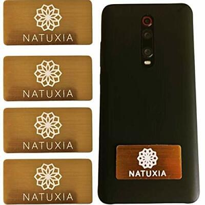 Natuxia Phone Radiation Protection Stickers, EMF Protection Device, Anti • 15.99£