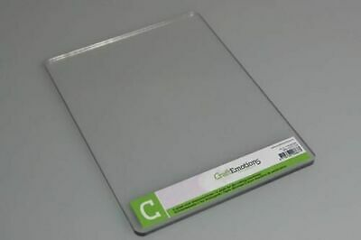 Craft Emotions - Die-Cutting Embossing - C PLATE- Single ADAPTER For Cuttlebug • 9.25£