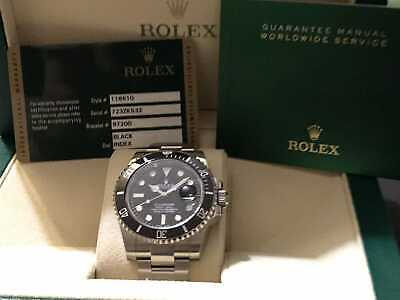 $ CDN14706.84 • Buy Rolex Submariner 116610LN Men's Watch - BOX PAPERS CARDS ORIGINAL NO CHINESE