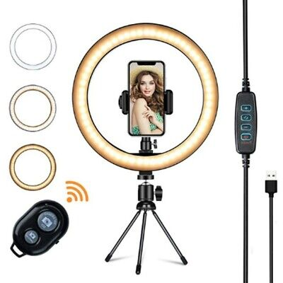 AU12.99 • Buy 10  Phone Selfie LED Ring Light With Stand For Youtube Tiktok Makeup Video Live