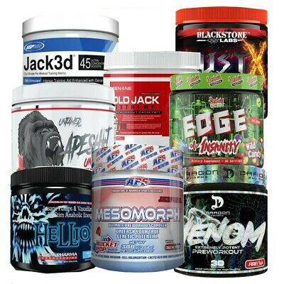AU78.95 • Buy Pre Workout | Usp Jack | Mesomorph | Dust X | + More | Usa Version
