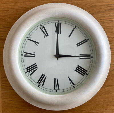 £6.99 • Buy Wall Clock 11.5 Inches Roman Numerals Kitchen Lounge Etc