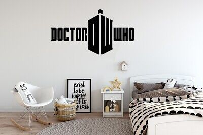 'dr Who' Logo | Feature Wall  Art Sticker Decal | Bedroom/living Room • 11.99£