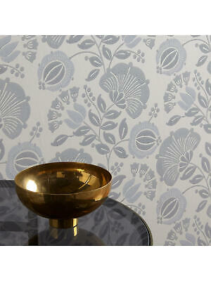 AU18.03 • Buy John Lewis Genevieve Bennett Persian Thistle Wallpaper Buff