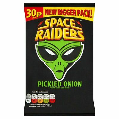 Space Raiders Pickled Onion Snacks 25g 36 Pack • 11.98£
