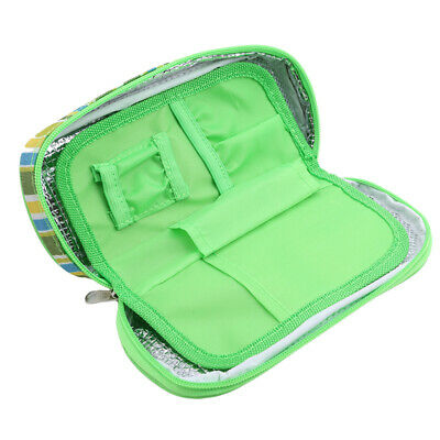 £5.37 • Buy Polyester Isothermal Cool Bag/ Case For Insulin And Diabetic Kit Organiser Lin