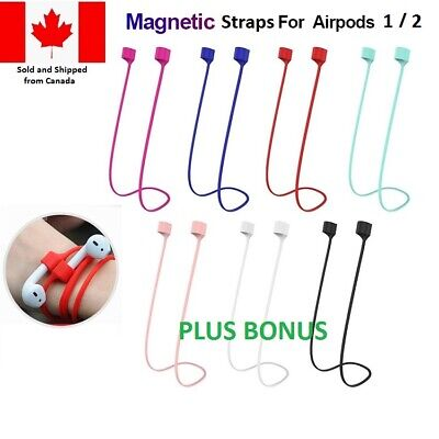 $ CDN6.99 • Buy A Magnetic Anti-lost Strap Earbud Cover Lanyard Neck For Apple AirPods W/ BONUS