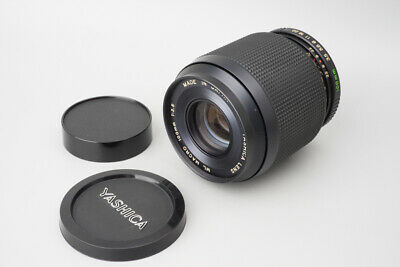 Yashica ML 100mm F/3.5 F3.5 Manual Focus Macro Lens For CY C/Y Mount • 317.47£