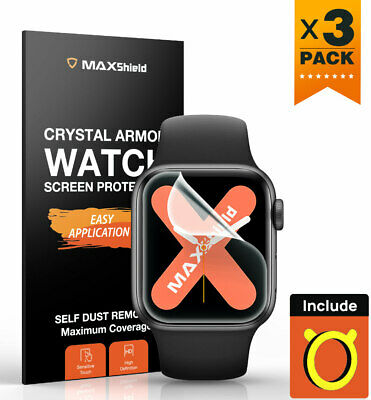 AU7.99 • Buy MaxShield Screen Protector For Apple Watch Series 4/5/6 SE 38/42 40/44mm IWatch