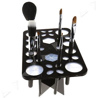 AU22.04 • Buy Professional 28 Piece Make Up Brush Set With Cosmetic Brushes Holder Hanger