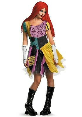 $39.99 • Buy Women's Sassy Sally Nightmare Before Christmas Costume Size Large (Used)