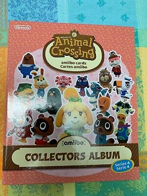AU99.95 • Buy Animal Crossing Series 4 Amiibo Cards Collectors Album Folder For New Horizons