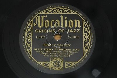 78 RPM 10 : Beale Street Band - Piggly Wiggly / Forty And Tight - Vocalion V1016 • 3.95£