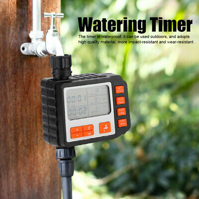LCD Automatic Watering Timer Irrigation Hose Garden Water Controller Program • 22.90£
