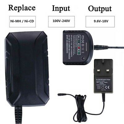 Charger For Black Decker 1.2V-18V A1712 A1718 A12 A18 Ni-MH Ni-CD Battery G5C7 • 14.09£