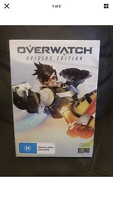 AU60 • Buy Overwatch Origins Edition PC Game (AS NEW)
