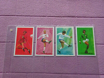 Kelloggs - International Soccer Star Tips X 4 Cards ( Football  )  • 9.99£