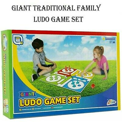 Games Hub Giant Garden Family Traditional Favourite Ludo Game For Age 5+ Kids • 6.79£
