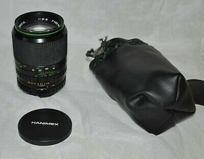 Hanimex Camera Lens Automatic 135mm 1:2.8 - 55mm Fitting - Includes Case • 24.50£