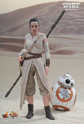 AU369.99 • Buy STAR WARS ~ Rey & BB-8 1/6th Scale Action Figure Set MMS337 (Hot Toys) #NEW