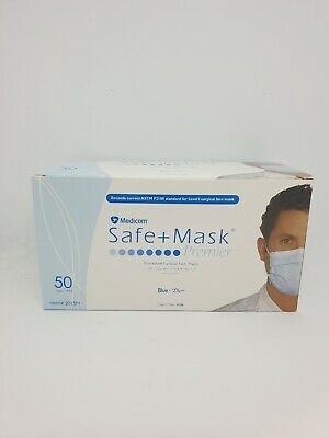 AU58.98 • Buy Medicom Disposable FACE MASK Earloop - N95 And 3ply (50pk)