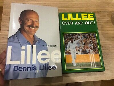 AU45 • Buy Dennis Lillee Books, One Signed