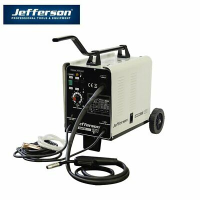 150A Mig Welder Gasless Or Gas 230V 16Amp Jefferson Tools • 175£