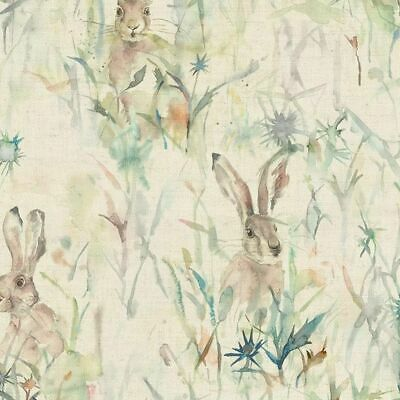 Voyage Maison Jack Rabbit Linen Curtain Upholstery Fabric | In Stock • 25.95£