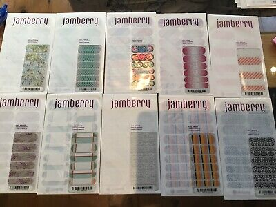 AU7.50 • Buy Choose 1 Set Jamberry Nail Wrap Full Sheet Butterfly Bliss Or Hopscotch Or Beach