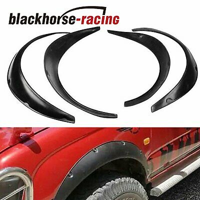 $28.45 • Buy 4PCS 820/890MM Universal Fender Flares Flexible Durable Polyurethane Car Body