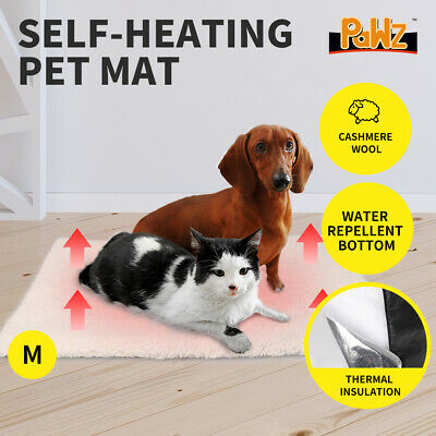 AU17.99 • Buy PaWz Heated Pet Bed Heating Pad Dog Beds Bedding Soft Mattress Cushion Pillow M