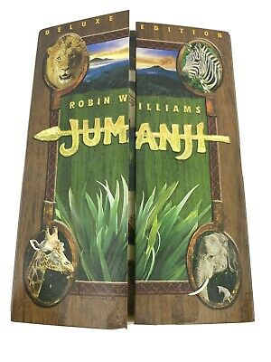 AU12.50 • Buy Jumanji Deluxe Edition DVD With Slipcase