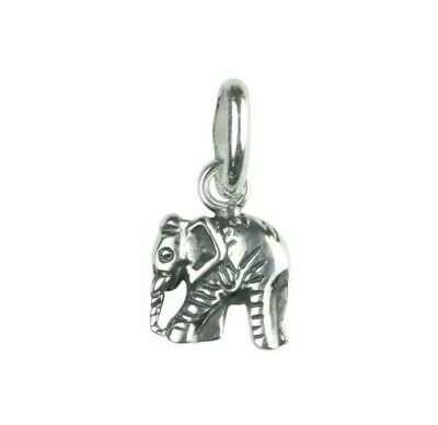 £9.99 • Buy 925 Sterling Silver Elephant Pendant Necklace Design 10 (Chain Included)