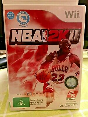 AU55 • Buy NBA 2K11 2011 Nintendo Wii Game. Feat. Michael Jordan, By 2k Sports.